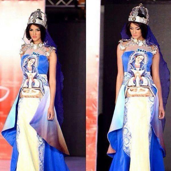 El traje típico de Miss Universo RD genera diversas reacciones
