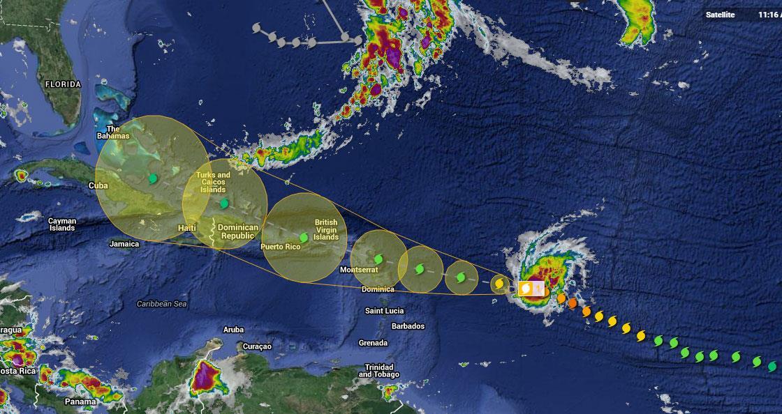 Detrás de Danny, viene Erika, un posible ciclón tropical que afectaría RD