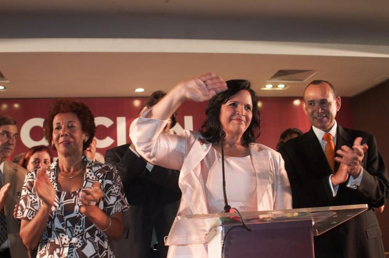 """Minou llama a la sociedad dominicana a enfrentar  """"las fuerzas malignas que buscan perpetuarse en el poder"""""""